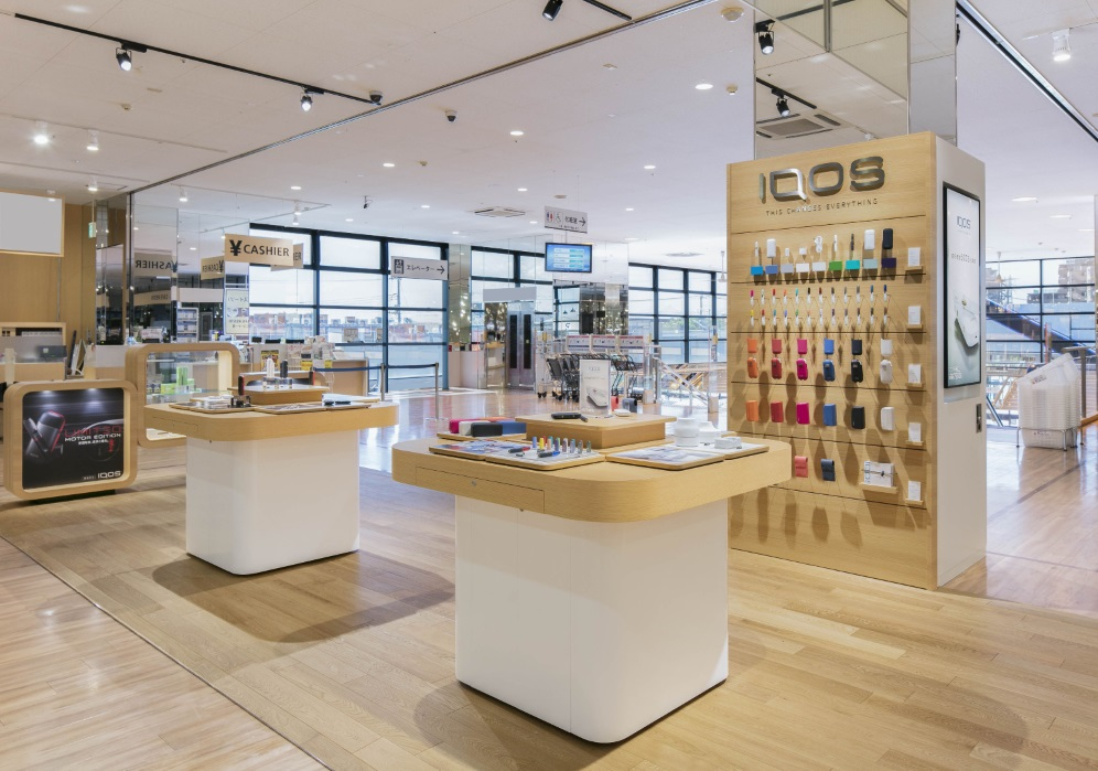 IQOS CORNER at KASUKABE